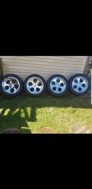 20 GIOVANNA CHROME RIM'S for Sale in Pikesville, MD
