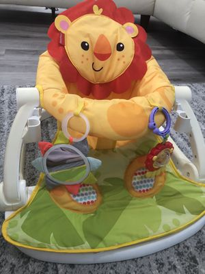 Fisher-Price Sit-Me-Up Floor Seat with Tray Lion for Sale in Wellington, FL