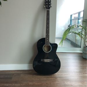 Acoustic Guitar (Black Color) for Sale in Chicago, IL