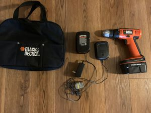 Black and Decker drill set for Sale in Kennesaw, GA