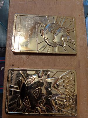Pokemon gold plated collectable for Sale in Chagrin Falls, OH