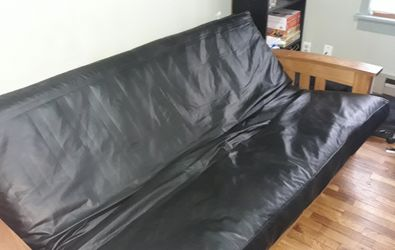 Leather Futon for Sale in Seattle,  WA