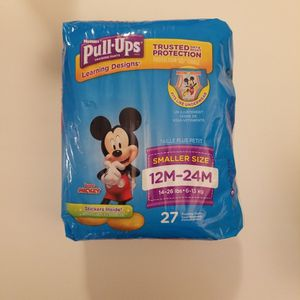 *NEW* Huggies Pull Ups, 12M-24M, 27 ct for Sale in Garden Grove, CA