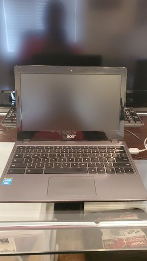 Acer chrome lap top 7720 chrome book for Sale in Plantation, FL