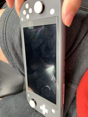 Nintendo Switch Lite with Super Smash Bro's for Sale in Pflugerville, TX