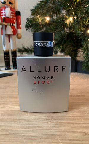 Chanel Allure Homme Sport Cologne 3.4 oz for Sale in Laguna Beach, CA