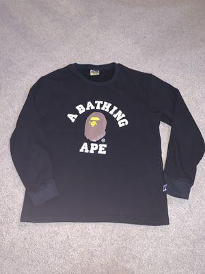 Bape A Bathing Ape women L crewneck sweatshirt for Sale in Portland, OR