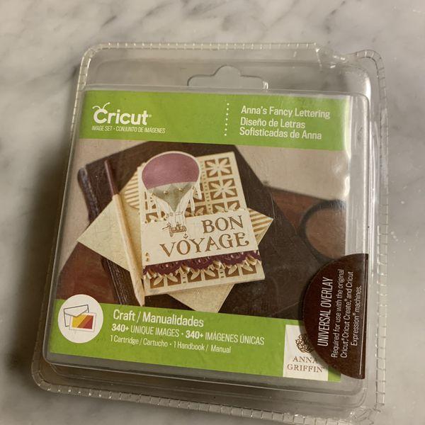 Cricut Anna's Fancy Lettering Cartridge Decor Digital Set