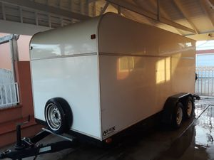 Aztec utility trailer great shape new tires permanent tags for Sale in Montebello, CA