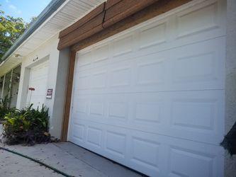 11x7 garage door new $500 firm. for Sale in Fort Lauderdale,  FL
