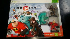 XBOX 360 Disney Infinity Game, Starter Pack and Extra Figures for Sale in Dallas, TX