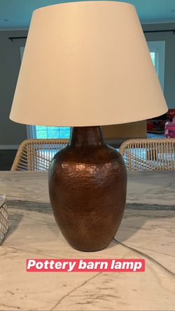 Pottery barn table lamp for Sale in Valley View,  OH