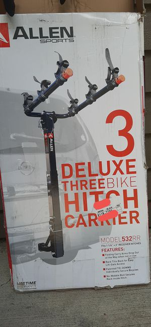 Allen Sport 3 bike hitch racks for Sale in Beaverton, OR