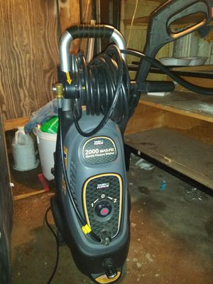 2000 psi power washer for Sale in North Providence, RI