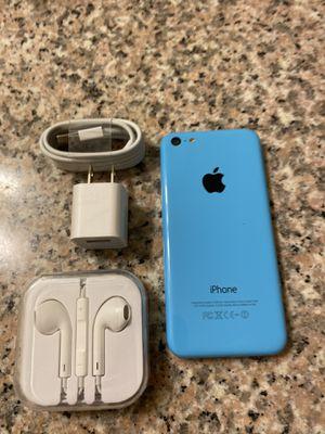 iPhone 5C blue unlocked (desbloqueado para todas las compañías) for Sale in Monterey Park, CA