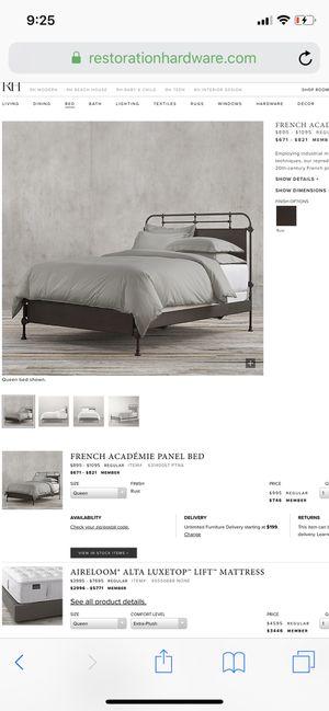 Restoration hardware bed for Sale in Nipomo, CA