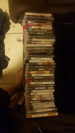 Ps3 gams for Sale in Bakersfield, CA