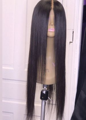 Straight human lace wig 26inches for Sale in Coffeyville, KS