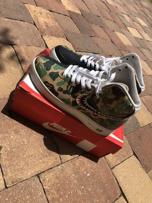 Custom Bape Airforces (size 9.5) for Sale in Pine Hills, FL