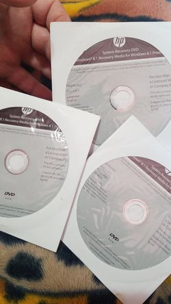 HP Systems Recovery DVD $20 for Sale in Aberdeen,  WA
