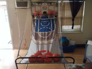 Yea Sports Dual Basketball Hoop With 3 Games Included Such As OUT And Etc for Sale in Norfolk, VA
