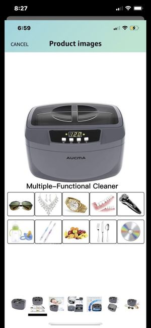 ‼️Brand New‼️ Ultrasonic Cleaner, Professional 160 Watts 2.5L Heated Ultrasonic Jewelry Cleaners Industrial Grade with Digital Timer for Home & Comme for Sale in Santa Ana, CA