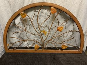 Metal wall mountable fall / autumn decoration for Sale in La Mirada, CA