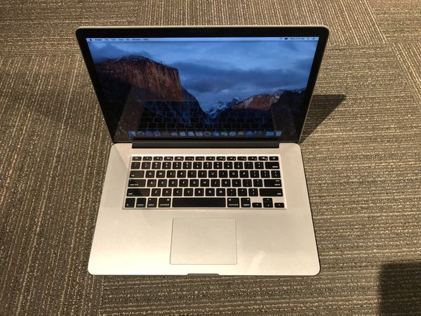 "2015 MacBook Pro 15"" 2.8ghz i7 16gb ram"