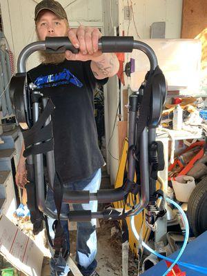 Bike rack for car - holds 3 bikes for Sale in Gresham, OR