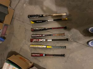 Baseball Bats (Bulk or Separate) for Sale in Atlanta, GA