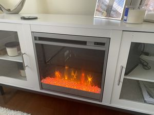 Fireplace and Heater TV stand for Sale in Alexandria, VA