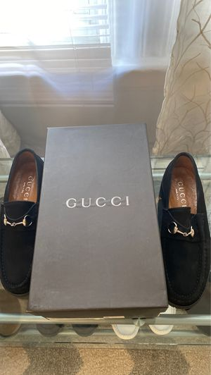 Gucci Mocassino Pelle Mors Sport Suede Black Size 9. for Sale in Woburn, MA