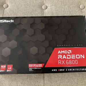 ASROCK AMD RADEON RX 6800 GRAPHICS / VIDEO CARD RDNA 2 for Sale in Fontana, CA