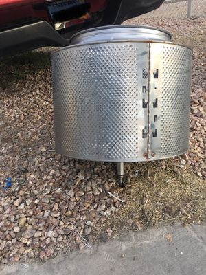 Washer drum for fire pit for Sale in Las Vegas, NV