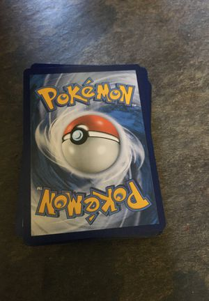 Pokémon cards wanting 10$ 50 cards for Sale in Denton, NC