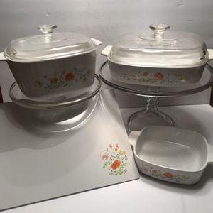 Vintage Corningware Wildflower 4 Piece Set for Sale in Gainesville, FL