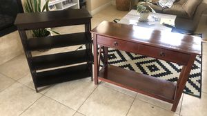 Bookcase & Entry Way Table for Sale in Boulder City, NV