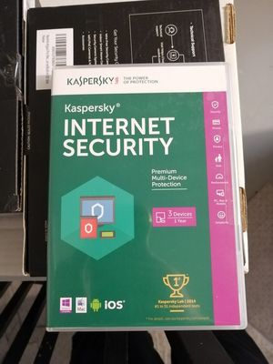 New Kaspersky internet security 2016 (3 Devices) for Sale in Rockville, MD
