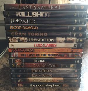 Lord of The Rings DVDs for Sale in Elkins, WV