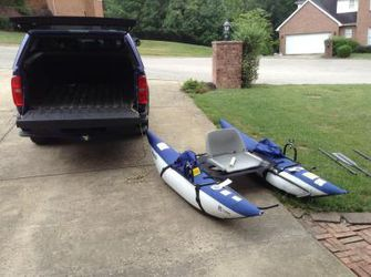 Two Roanoke Inflatable Pontoon Boats $240 each for Sale in Macon,  GA