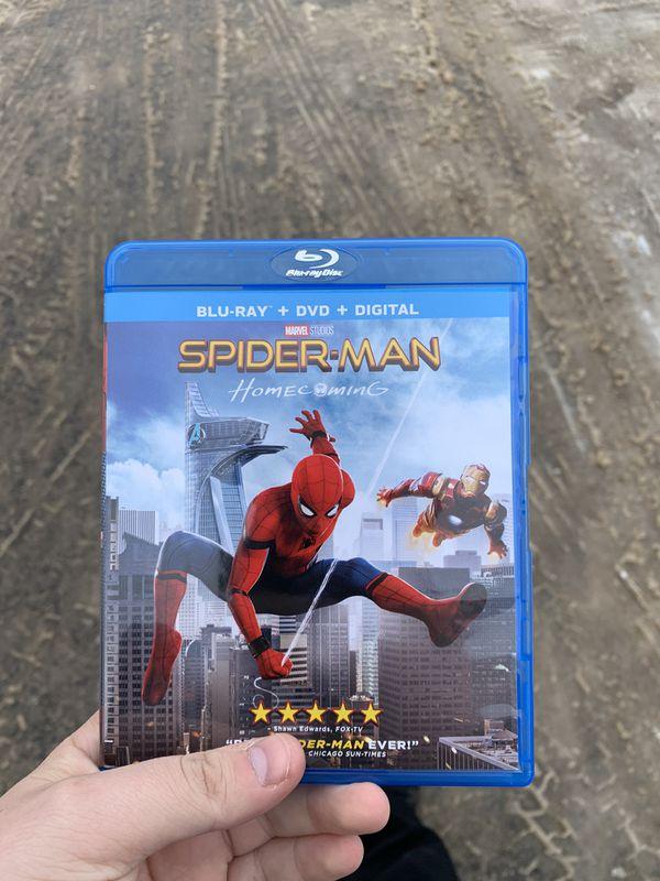Spider-Man Homecoming Blu-Ray & DVD combo (just discs, no digital code)