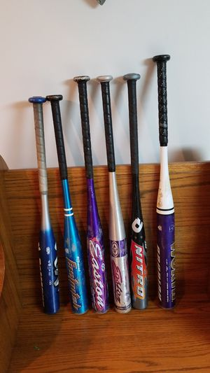 Aluminum youth softball bats for Sale in Greensburg, PA