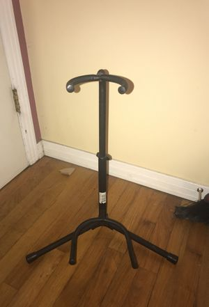 Folding Black Metal Guitar Stand GS2 for Sale in Tampa, FL