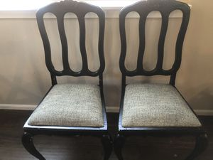 Two Sturdy Antique Dining Chairs for Sale in Kent, WA
