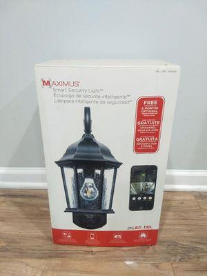 Maximus Smart Security camera light for Sale in Carol Stream, IL