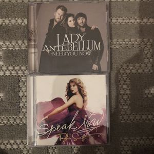 Country bundle CDs Taylor swift and lady antebellum for Sale in La Habra, CA