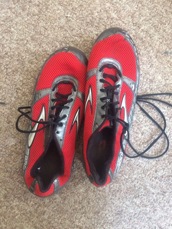 Red Track Cleats shoes