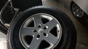 Jeep wheel and tires for Sale in Costa Mesa, CA