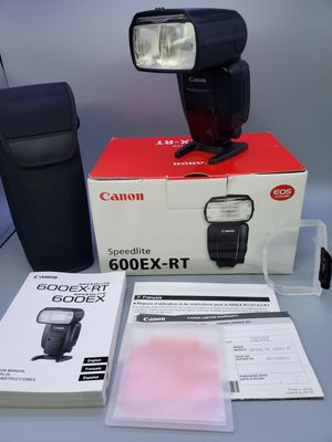 Canon 600ex-rt for Sale in Glendale Heights, IL