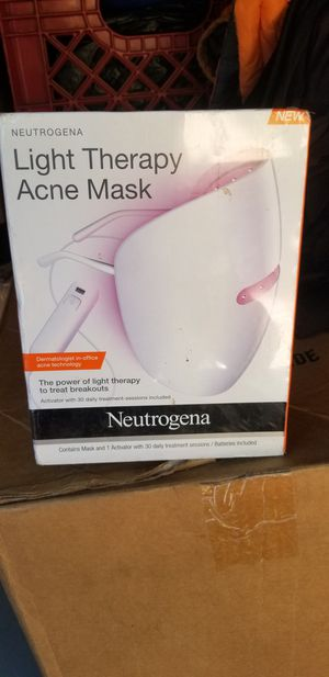 Light therapy acne mask for Sale in Ontario, CA